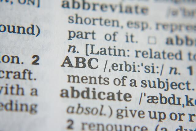 Abc-sanakirja