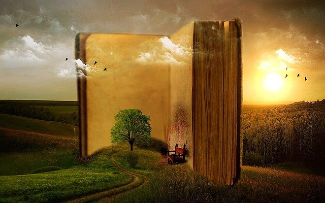Kirja pellolla
